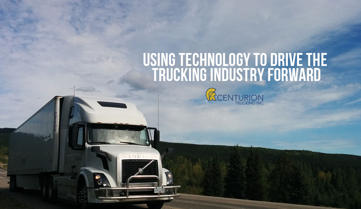using technology to drive trucking forward